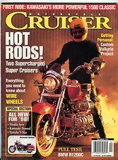 Motorcycle Cruiser Magazine December 1997 BMW R1200C EX 020916jhe