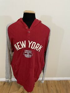 New York Red Bulls - Pullover Hoodie - Mitchell & Ness - 2XL - RBNY