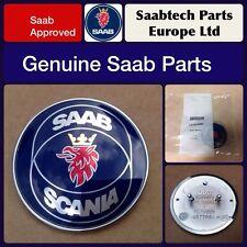 GENUINE SAAB Front Emblem 900 9000 9-3 1985-2000 4522884