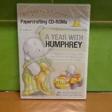 Crafters Companion Double  CD Rom - A Year with Humphrey
