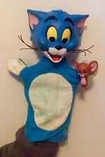 Mattel 1965 Tom and Jerry Hand Puppet Cartoon Character Figure
