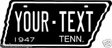 Tennessee 1947 Tag Custom Personalize Novelty Vehicle Car Auto License Plate