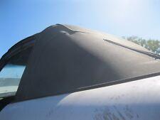 Miata Mazda Mx5 90 Convertible Top Back Glass Oxidized Used Black Soft Top
