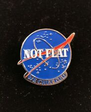 Not Flat Lapel Pin