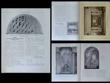 CONSTRUCTION MODERNE 1926 AMBASSADE EXPO ART DECO, HENRI RAPIN, HENRI BOUCHARD