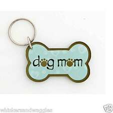 Dog Speak Acrylic Keychain - Dog Mom - Made in the USA