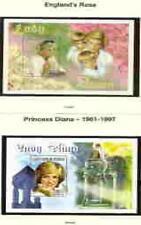 PRINCESS DI  2 Memorial Sheets - Guinea and Senegal