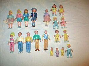 Vintage Playskool Loving Family Dollhouse People Dad  Man Grandma Grandpa Kids