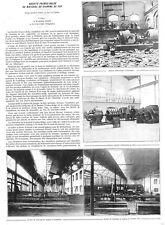 RAISMES (59) LA CROYERE (B) STE DE MATERIEL DE CHEMINS DE FER / ADP 1921