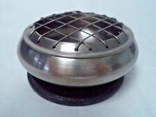 """Pewter Censer Incense Burner: 3"""", Screen Top for Charcoal Tablets & Resin"""