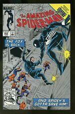 Amazing Spider-man #265, VF/NM 9.0, First Silver Sable; Second Print