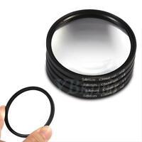 4Pcs/Set 58mm +1 +2 +4 +10 Close Up Macro Filter Set With Case Bag For Camera BT