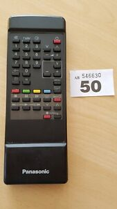 Panasonic TNQ8E0447  Remote Control for TV VCR cleaned sanitised and tested