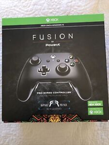 PowerA Fusion Pro Wired Controller For Xbox One - Black - Windows 10