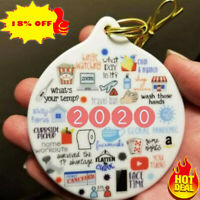 🎅🎄2020 Annual Events Christmas Ornament XMAS Tree DIY Decoration🎄🎅