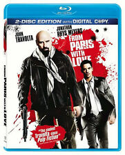 FROM PARIS WITH LOVE (2010) (Jonathan Rhys Meyers) - BLU RAY - Region A - Sealed