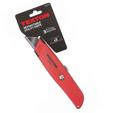 Retractable Utility Knife 3 Positions Classic Slim Profile TEKTON 69102