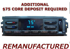 REMAN 1993 1994 Lincoln Town Car AC Heater Climate Control EATC Temperature