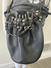 Authentic Alexander Wang Diego Bucket Bag Black w/ Gold Hardware