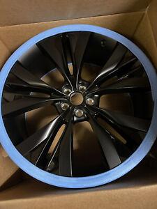 """1 X 22"""" JAGUAR F PACE Helix alloy wheel Genuine HK8M-1007-BB T4A3797  BLACK  NEW"""