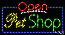 "New ""Open Pet Shop"" 32x17 Solid/Anim