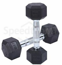 5KG Pair Body Building Gym Hexagonal Barbells Cast Iron Dumbbells Sports Indoors