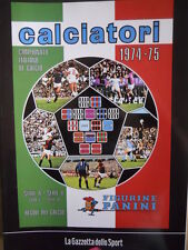 ALBUM PANINI Calciatori Ristampa GAZZETTA anno 1974-75  [GS43]