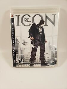 Def Jam: Icon (Sony PlayStation 3 / PS3, 2007)