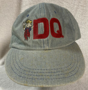 Dairy Queen Dennis The Menace Base Ball Cap, Light Wear, Early 1990's. Rare!