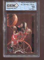 Michael Jordan 1993-94 Upper Deck SE #G11 Behind the Glass GEM MINT 10