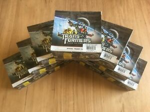 Transformers Dark of the Moon official trading cards 9 full Boxes (loose) rare