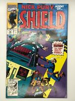 NICK FURY: AGENT OF SHIELD # 29 1989 MARVEL WOLVERINE COMIC BOOK