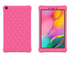 Silicone Gel Case Cover For Samsung Tab A 8.0 SM-T290/T295 (2019) + 1 Stylus