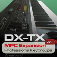 YAMAHA DX7 II MPC EXPANSION PROGRAMS & KEYGROUPS READY AKAI MPC SAMPLES DOWNLOAD