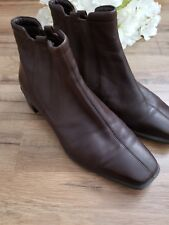 ECCO Womens Brown Ankle Boots Size 41 9.5 (250253)