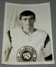 QJAHL 1968-69 Quebec Aces Henri Genois Photo