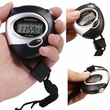 Training With Lanyard Counter Sports Stopwatch Chronograph Handheld Timer