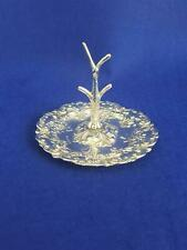 Very Pretty Edwardian Antique HM 1907 Sterling Silver Rococo Ring Tree Stand 39g
