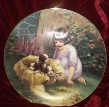 New listing A Basket Full From he Fond Memories Collector Plate by Meta Grimball.