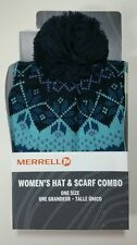 NWT NEW NIB MERRELL WOMEN WINTERBELLE BOX SET HAT SCARF COMBO