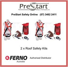FERNO Roofers Safety Harness Kit (2 pk) - Height Safety, Roof Worker