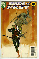 BIRDS OF PREY # 44 2002 1st Series Black Canary Oracle Barbara Gordon