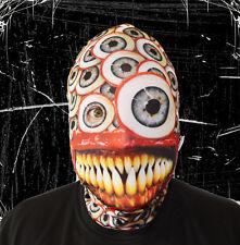3d EFECTO Enorme Pupila demonio cara piel Máscara de Lycra Halloween Terror