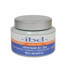 IBD Builder Gel Hard Gel Clear 2 oz LED/UV