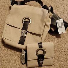 American Eagle Canvas Handbag and Wallet Travel Bag NWT