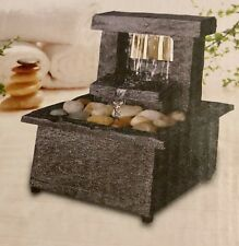 Mini Tranquility Fountain Cordless Soothing Sound Bedroom Study Plus Free Gift