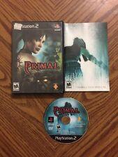 Primal (Sony PlayStation 2, 2003) W/ Manual