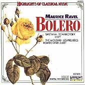 Maurice Ravel Bolero Highlights of Classical CD Music