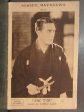 cpa sessue hayakawa j ai tué de roger lion acteur comedienne