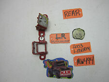 02-07 JEEP LIBERTY REAR DOOR HINGE TOP BOTTOM DOOR PANEL BACK R RH RR LR L LH